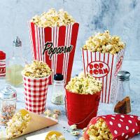 Modern Fresh Popcorn Logo