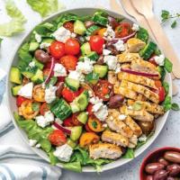 The Salad Tiffin Logo