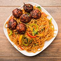 Badri Chinese and Fast Food Corner Logo