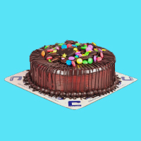 Royal Rainbow Cake Shop Logo