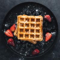 Delicious Waffles, Shakes & More Logo
