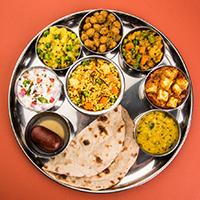 Patel Veg Restaurant Logo
