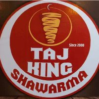 Taj King Shawarma Logo