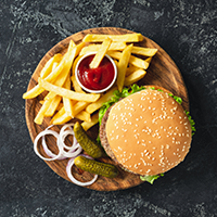 New Burger Bits Logo