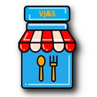 Vijay Juice & Snacks Logo