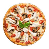 Pizza-Holic Logo