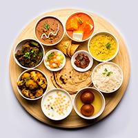 Krishna Kathiyawadi Meal Logo