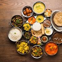 Punjabi Food On Way Logo