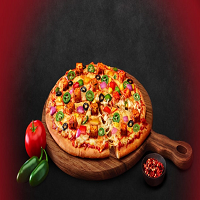 Cheesy Bite Fast Food Logo