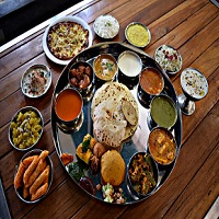 Vishala Restaurant The Garden Restaurant Logo