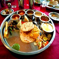 Maharashtrian Pure Veg Restaurant Logo