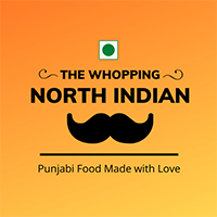 The Whopping North Indian Logo