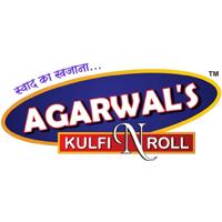 Agarwal's Kulfi N Roll Logo