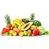 R.K Fruit Shop Logo