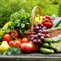 Neha vegetable Logo