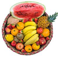 Angad Fruit Shop Logo