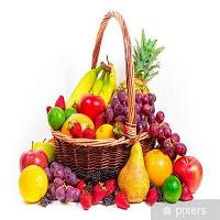 Raju Fruits Shop Logo