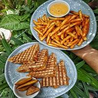 Aakanksha Snacks ABD Food Logo