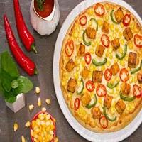 4 Slice Pizza Logo
