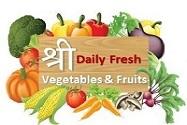 Shree Daily Fresh Vegetables & Fruits Logo