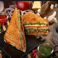 MS Fast Food & Cafe Logo