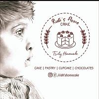 Ridh's  Home Cake Logo