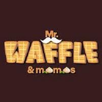 Mr Waffle and Momos Logo