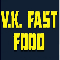V. K. Fast Food Logo
