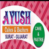 Ayush Bakers cake & Bakery Logo