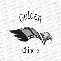 Golden Chinese Logo