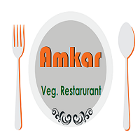 Amkar Fast Food and Veg Resturant Logo