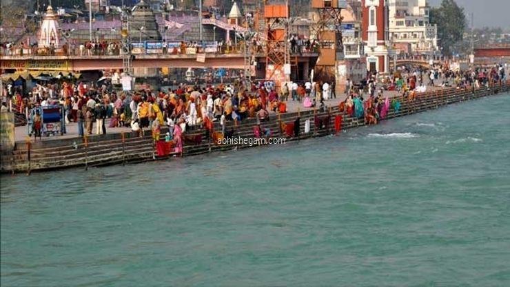 bath home gangai river