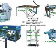 Corrugation Box Making Machines & Book Binding or...