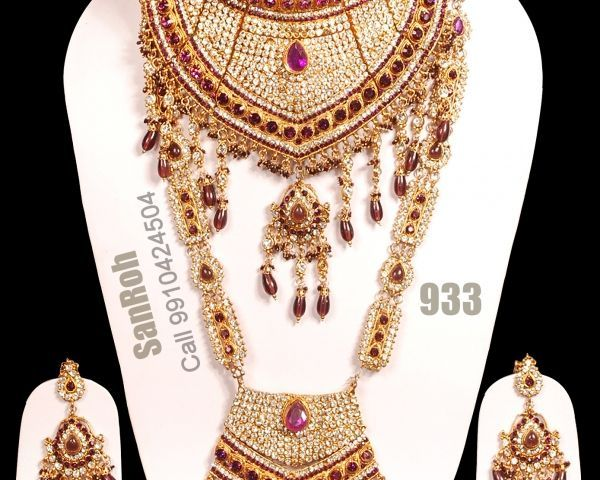 Bridal Jewellery On Rent Jewelry Delhi 128215521