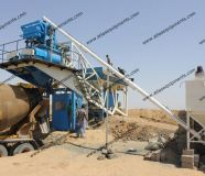 Concrete Batching Mixing Plant