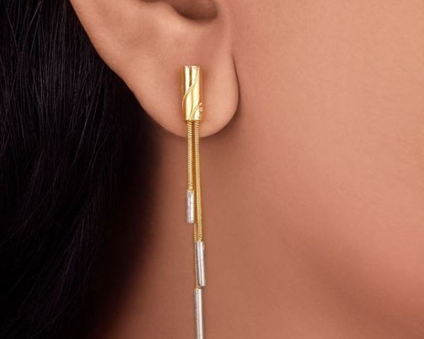 Tanishq 22KT Gold Earrings Design With Price Jewelry Bangalore