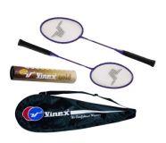 Buy Vinex Badminton Racquet Set - Gold online