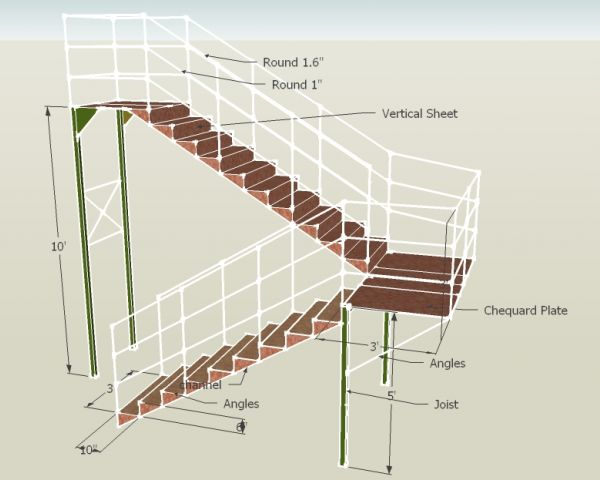 Delicieux Negotiable Fire Exit Stairs For Educational Institution From Rooftop  Solutions By Arpita Chatterjee