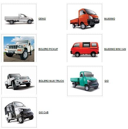 Mahindra Genio Dc, Bolero Pick-Up, Bus - Truck - Commercial
