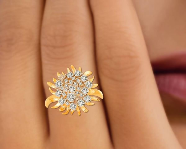 Tanishq Diamond Ring Stunning Gold Jewelry Connaught Place Delhi
