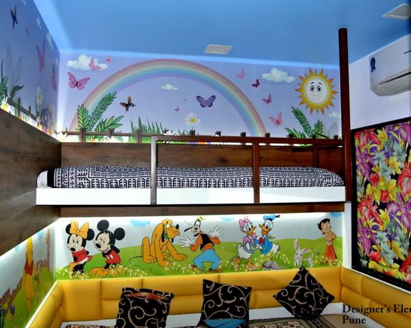 Negotiable Attractive Wallpapers For Kids Room At Coimbatore By Idea Interiors