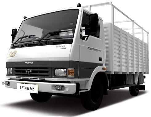 Tata 407 price lpt 407 ex2 bus truck commercial for Via motors truck price