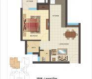 1BHK flat in klj hieghts bahaurgarh,fully furnished...