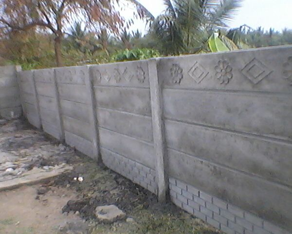 Ready Made Wall Compound : Readymade compound wall manufacturers in building material