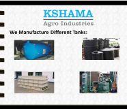Best Tanks manufacturer Industries - Kshama Agro...