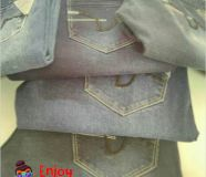 Denims at wholesale with good quality.