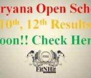 10th Class Haryana Open School Result 2017