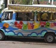 Customized Mobile Food Truck for Sale