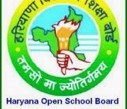 Haryana Open School 10th(Secondary)  Exam Date Sheet 2018