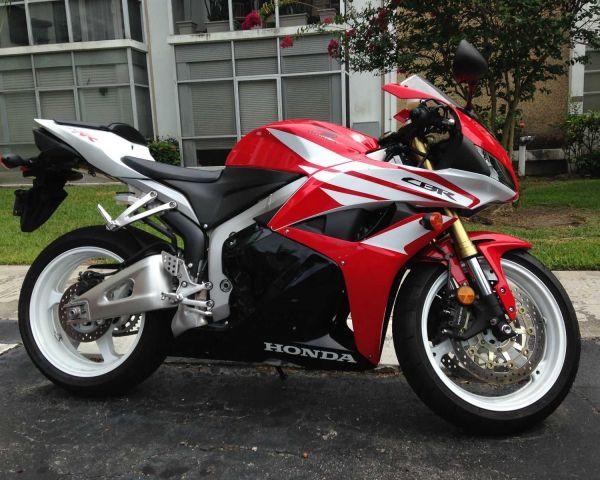 2012 Honda Cbr 600rr Bike Red Low Mileage280055 Bikes Scooters